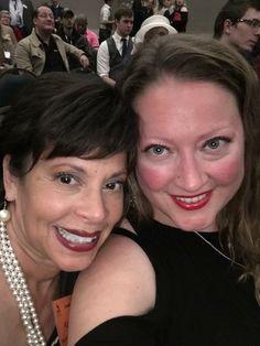 Kat and Abby. We won! SETC Awards Banquet. 2017