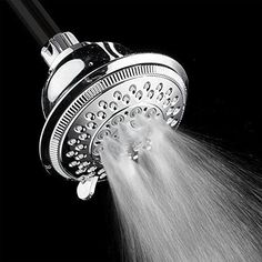 AKDY High Quality ABS Multi-Function Rainfall Style Massage Wall Mount Fixed Shower Head