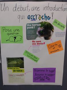 Début accrocheur Teaching Materials, Teaching Resources, French Resources, World Languages, French Immersion, New Class, Writer Workshop, Teaching French, French Language