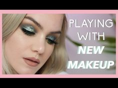 Trying New Makeup Launches: A Look More Dramatic Than Me As A Person | Mariah Leonard - YouTube