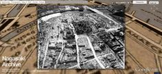 Nagasaki Archive: It is the web content to tell the world the reality of the atomic bomb on interactive archive of the digital globe.