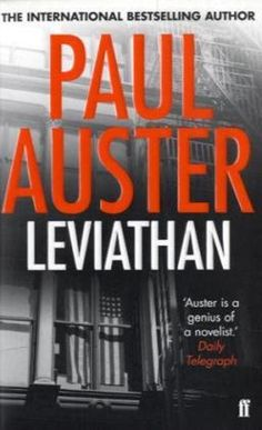 #awallofbooks Leviathan, by Paul Auster