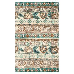 Anchor your living room seating group or define space in the den with this artfully hand-woven jute rug, showcasing patterned striping for eye-catching appea...