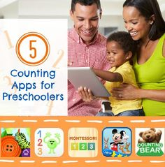 Help your preschooler develop number sense and counting skills with these 4 apps.