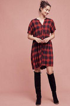 Mona Plaid Dress
