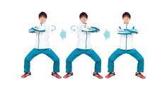 働く女性が簡単にできて、肩こりや体の引き締めに効果の高い体幹トレーニング。青山学院大学陸上競技部監督の原晋さんに教えてもらいました。■両腕スライドで背中スッキリ背骨の位置がブレないようキープしながら、腕を床と平行にスライドし胸椎(きょう…