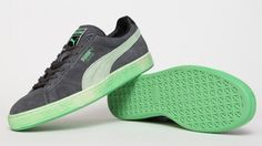 Puma Suede Washed - Green