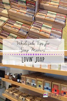 wholesale tips for soap makers -  Soap | Handmade Soap | DIY Soap | Soap Making | Soapmaking | Learn to make soap | Natural Soap | Soap Recipe | Soap Tutorial