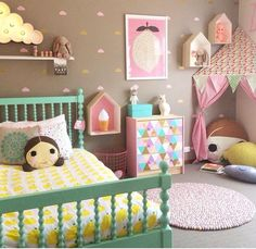 Toddler Girls Bedroom Ideas U2013 Decorating Furniture Styles Colorful Toddler  Girls Bedroom U2013 Home Interiors | Charliu0027s Big Girl Room | Pinterest