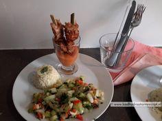 paksoi met saté en bloemkoolrijst Low Carb Recipes, Healthy Recipes, Healthy Food, Wheat Belly, Guacamole, Wordpress, Paleo, Meat, Chicken