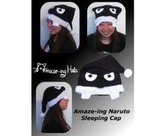 Naruto Sleeping Cap-Inspired Hat
