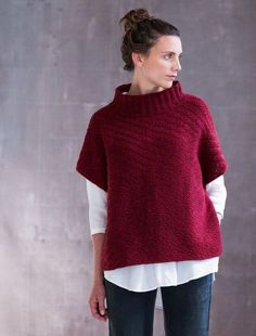Diy Crafts - Brooklyn Tweed Pattern Kirwin Pullover - The Websters in Ashland, Oregon Brooklyn Tweed, Knitting Patterns Free, Knit Patterns, Sewing Patterns, Knit Vest Pattern, Pullover, Wool Yarn, Pulls, Knit Crochet