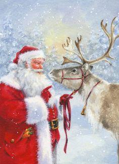 20 Servietten  Serviettentechnik Sleigh Merry Christmas P+D 33x33