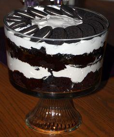 The Easiest Holiday Dessert Recipe Ever: Triple Chocolate Trifle   Uncle Wally's Muffin Blog