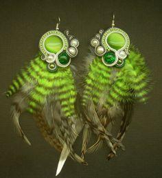Green-grey soutache by mruwencja.deviantart.com on @deviantART