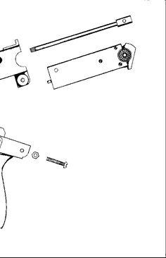GB-22 alike reciver schematics #gun #pistol #firearm #