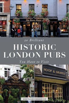 Looking for some of London's oldest pubs? These are the pubs you need to visit - gorgeous historic pubs in London for a pint or two. Famous Pubs In London, Best London Pubs, Best Pubs, London Places, Old London, London City, Vintage London, Pub Outfit, Uk Pub