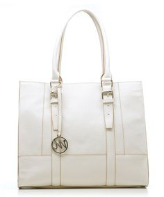 Take a look at this Shell Saffiano Jane Shopper Tote by emilie m. on #zulily today! timeless!