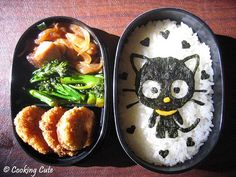 chococat bento I'm going to make this for my little girl she loves Choco-Cat.