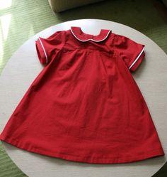 Mavis' first birthday dress