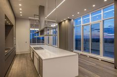State of the art kitchen in luxury Penthouse at the Florian Condos Victoria Boscariol Chestnut Park Real Estate