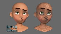 nice simple facial topology