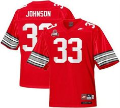 d8a94bf55f6 Buckeyes Pete Johnson Red Legends of the Scarlet & Gray Throwback 2014  Discover Orange Bowl Patch Stitched NCAA Jersey