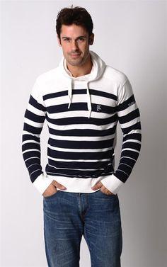 Love this hoodie! Horizontal stripes are my favorite!