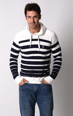 Love this hoodie! Horizontal stripes are my favorite!