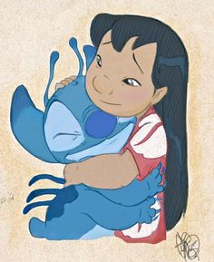 DeviantArt: More Collections Like Stitch and Angel by Lilo And Stitch Drawings, Lilo Y Stitch, Lilo And Stitch Tattoo, Disney Nerd, Cute Disney, Disney Stich, Disney Sleeve, Stitch And Angel, Pinturas Disney