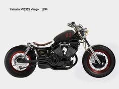 Virago Bobber, Virago 535, Bobber Motorcycle, Kustom, Cool Bikes, Cars And Motorcycles, Harley Davidson, Vehicles, Marauder