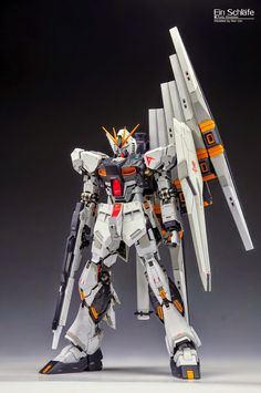 Gundam Family: MG 1/100 Nu Gundam Ver Ka Custom Build