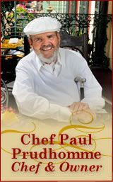 Chef Paul Prudhomme - Lines in the French Quarter were long but it was always worth the wait for a meal at Prudhomme's Restaurant.
