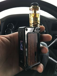 Kylin rta by Vandy Vape sitting on the paranormal dna75c by lost vape