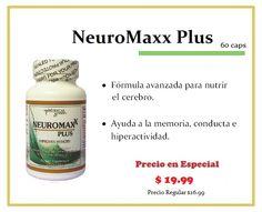 ¡En Especial!    NeuroMaxx Plus    Consíguelo en tus tiendas Vita Natura.    ¡Te esperamos!    **Promoción válida hasta el 30 de Abril de 2013