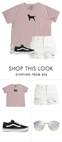 """Confused..."" by sweet-n-southern ❤ liked on Polyvore featuring R13, Vans and Ray-Ban"