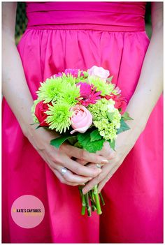 Pink + Green Wedding