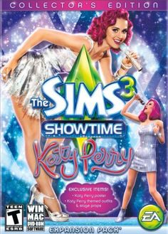 Buy The Sims 3 Showtime Katy Perry Collector's Edition PC & MAC Brand New Sealed at online store The Sims, Sims 3, Playstation, Xbox, Katy Perry, Videogames, Mac Download, Avant Garde Artists, Sims Games