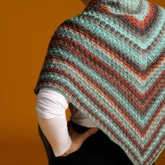 Granit Shawl from Knit Or Crochet, Crochet Gifts, Crochet Shawl, Free Knit Shawl Patterns, Free Pattern, Crochet Patterns, Prayer Shawl, Labor, Circular Needles