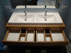 Zwevend Bamboe badkamermeubel | meubelmarcker