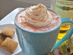 Kilbeggan cocoa with cream. | 18 Hot Whisky Cocktails That Will Keep You Oh So Cosy This Winter