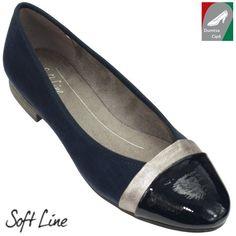 Jana Soft Line női cipő 8-22165-20 805 sötétkék kombi bfc4ccde78