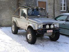 Suzuki 88 - Barras exteriores ¿? - Suzuki LJ, SJ y Samurai