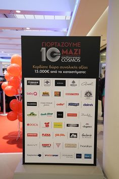 #celebration #events #gifts #10years #mediterraneancosmos #shopping center