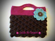 Ravelry: Hoot Owl Handbag pattern by April Bennett with Cuddle Me Beanies-$6.99