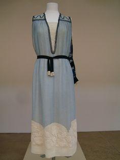 Paul Poiret, dress designed for his wife, Denise