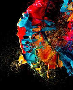 Liquid Jewels: High-Speed Photos by Fabian Oefner - Inspiration Grid High Speed Photography, Macro Photography, Grid Design, Rainbow Colors, Science Nature, Color Splash, Bunt, Collage Art, Bubble