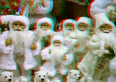 https://flic.kr/p/NSJacD | HAPPY CHRISTMAS 3D | anaglyph stereo red/cyan