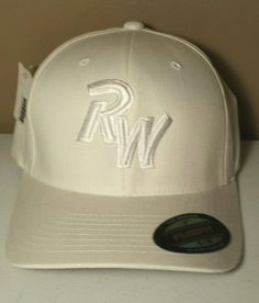 fa86c5a3d12 RW Richardson Baseball Hats Ridgewater College Willmar MN Caps Flexfit  White NWT in Clothing