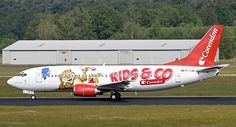 Corendon Boeing 737-3Q8 TC-TJB in Kids & Co outfit